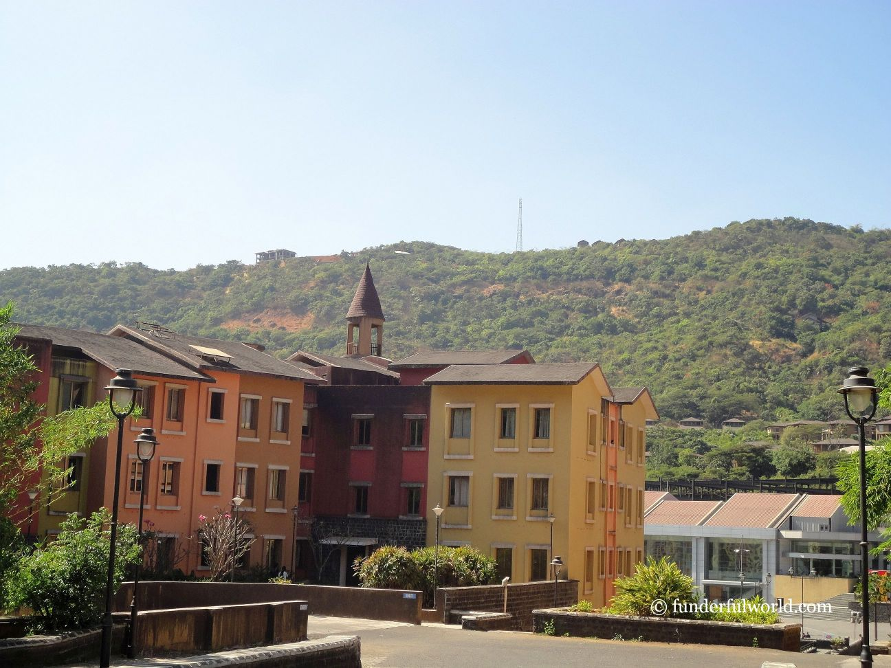 Italy or India? Lavasa, Maharashtra, India.