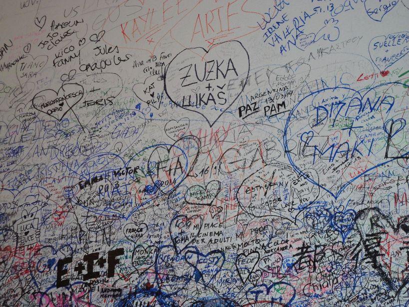 Write on White. Casa di Giulietta, Verona, Italy
