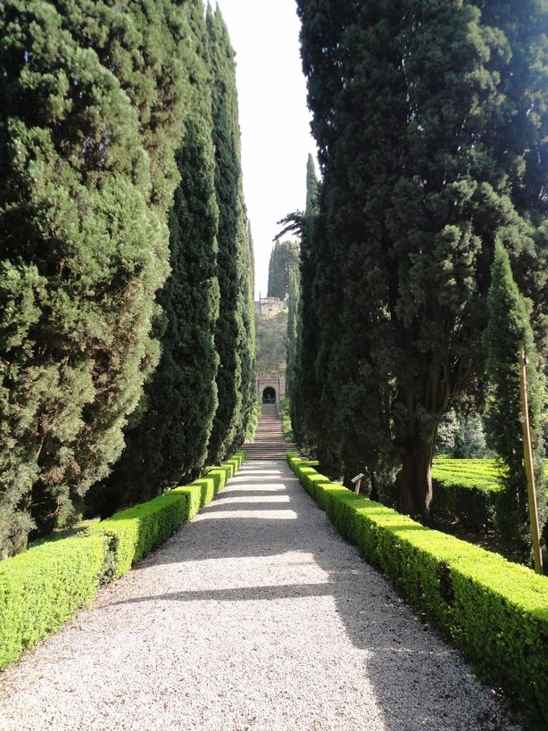 Where the path leads us. Giardino Giusti, Verona, Italy