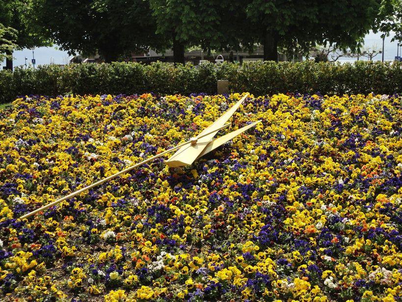 Floral clock, Lausanne, Switzerland