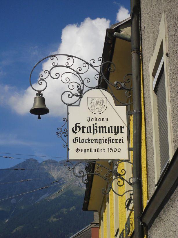 Ding Dong Bell. Grassmayr Bell Museum, Innsbruck, Austria