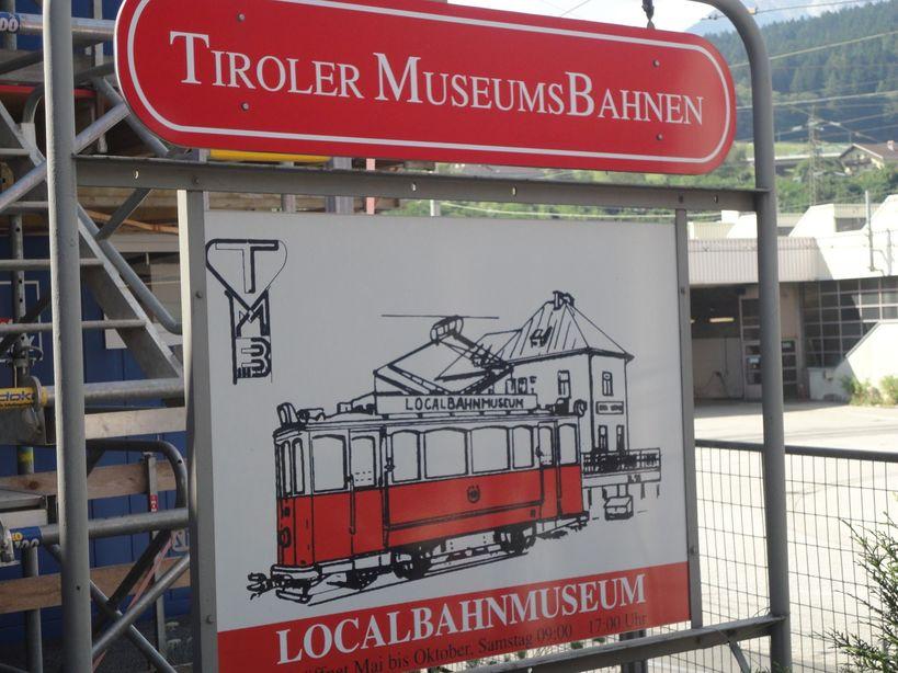 Welcome aboard. LocalBahn Museum (Tram Museum), Innsbruck, Austria