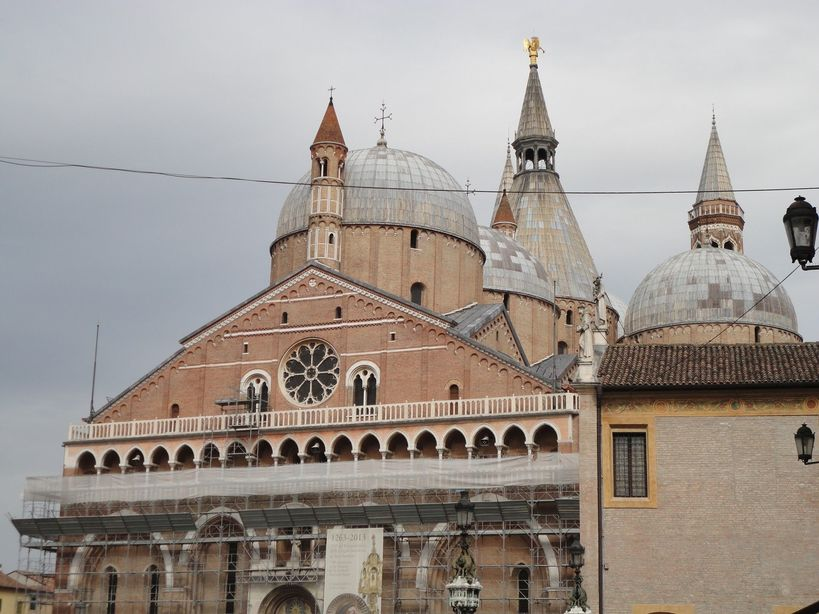 Basilica of St. Anthony of Padua. Padua, Italy
