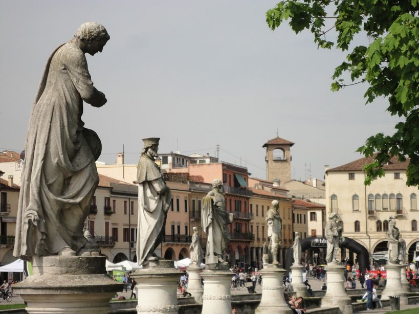 Prato della Valle. Padua, Italy