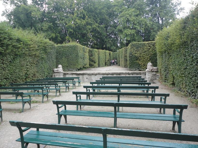 Hedge Theater. Mirabell Gardens, Salzburg, Austria