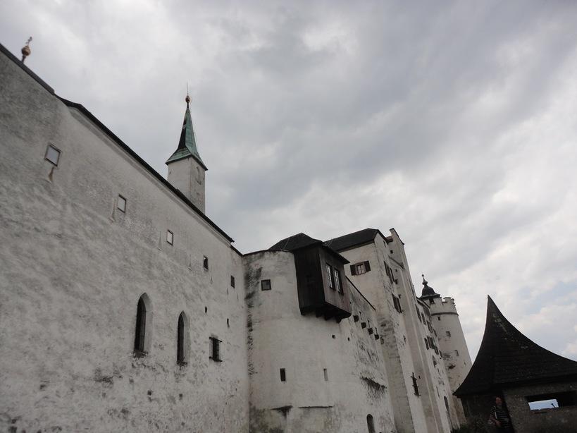 Hohensalzburg Castle. Salzburg, Austria