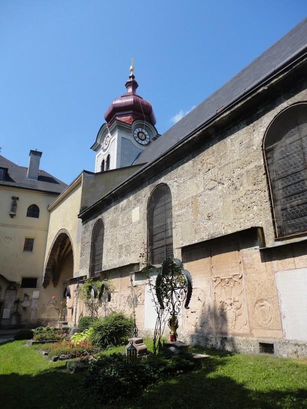 Nonnberg Convent. Salzburg, Austria