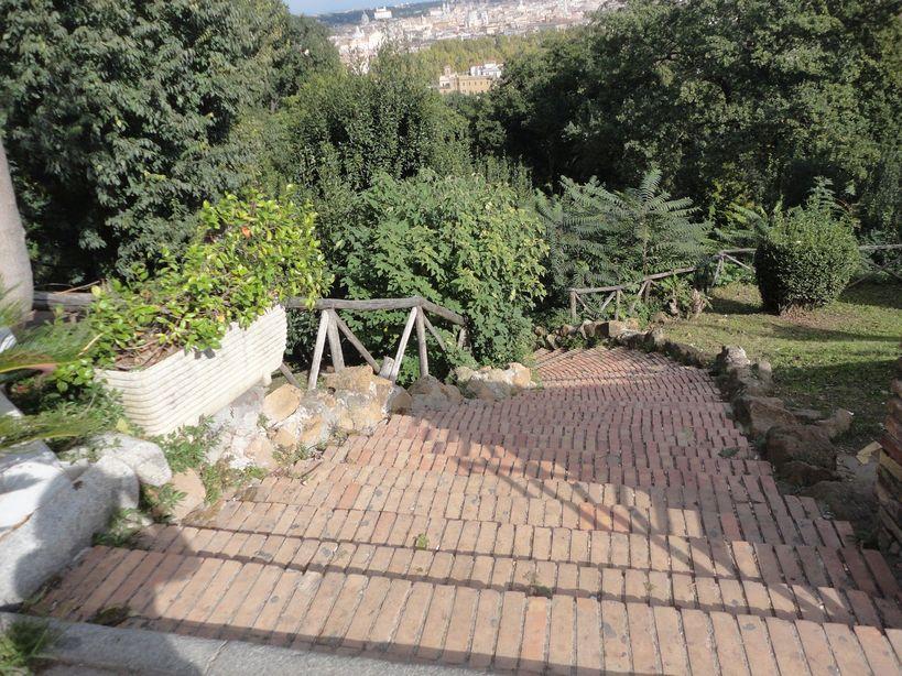 Heading to the city? Gianicolo Hill, Rome, Italy