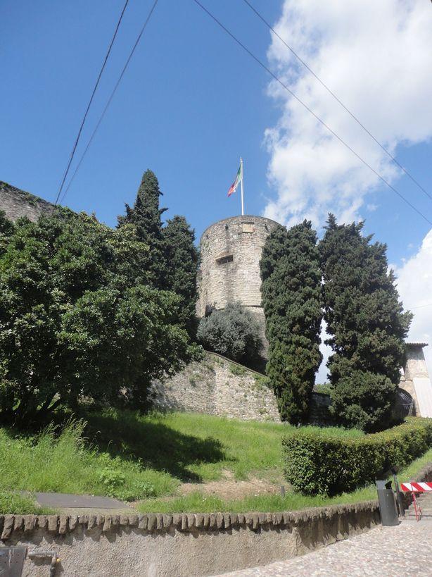 La Rocca. Bergamo, Italy