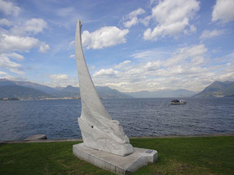 Lakeside Promenade. Stresa, Italy