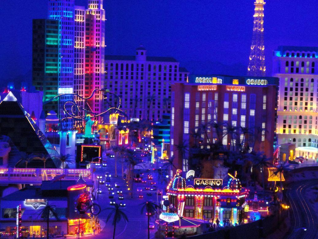 Las Vegas! Miniatur Wunderland, Hamburg, Germany