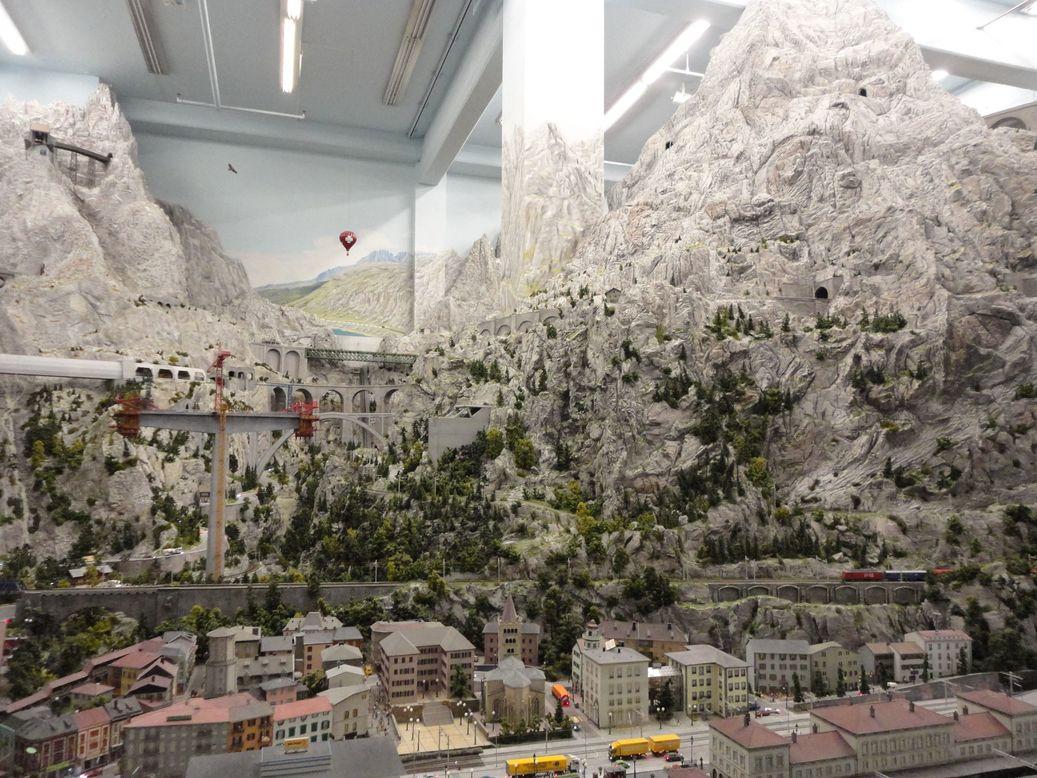 Switzerland, the land of SBB! Miniatur Wunderland, Hamburg, Germany