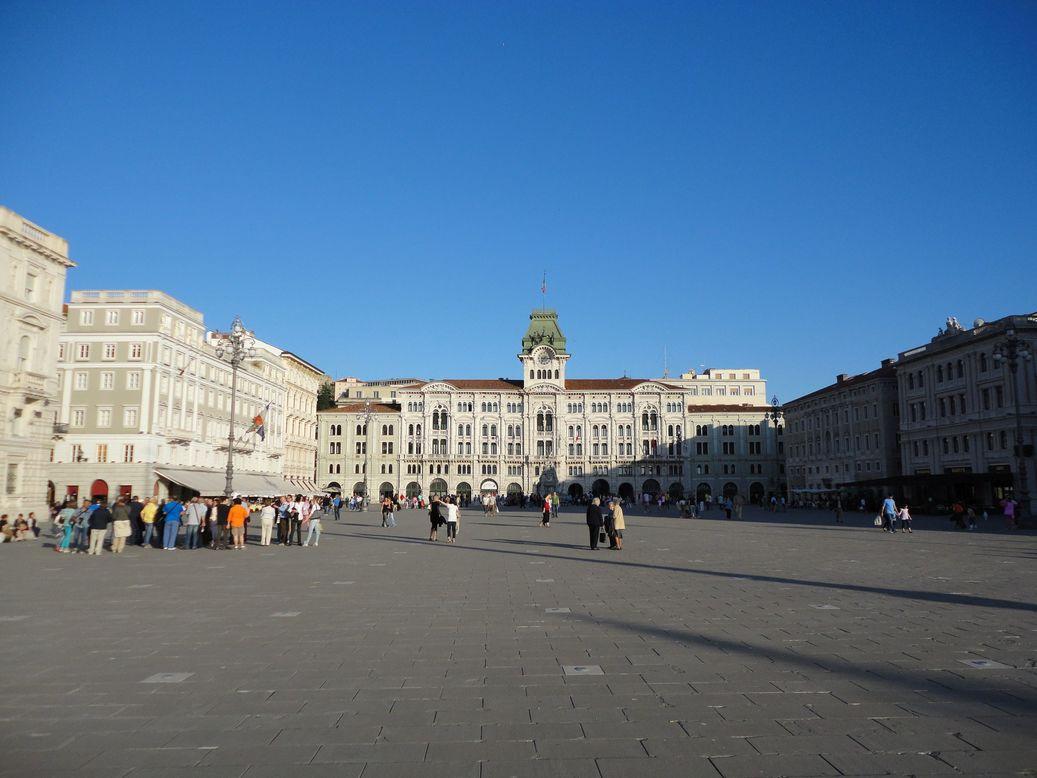 Piazza Unità d'Italia. Trieste, Italy
