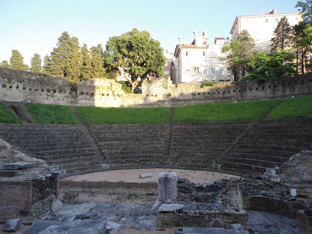 Teatro Romano (Roman Theater). Trieste, Italy