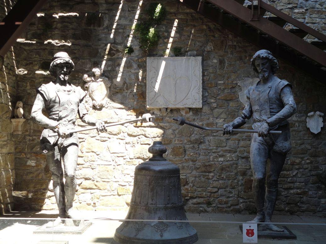 Michez and Jachez. San Giusto Castle, Trieste, Italy