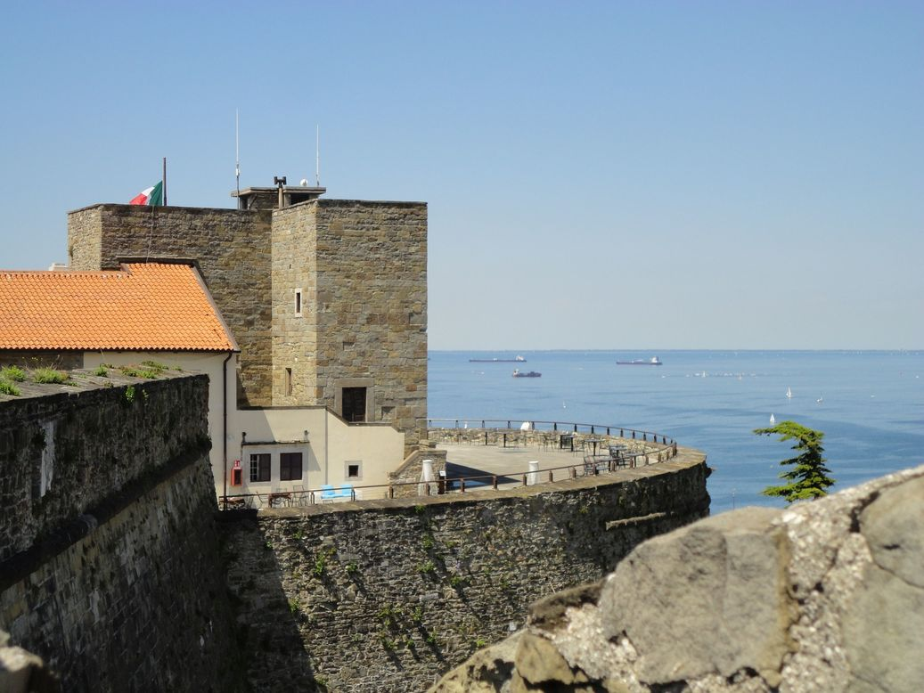 San Giusto Castle. Trieste, Italy