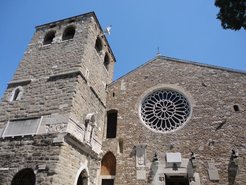 Cathedral of San Giusto. Trieste, Italy
