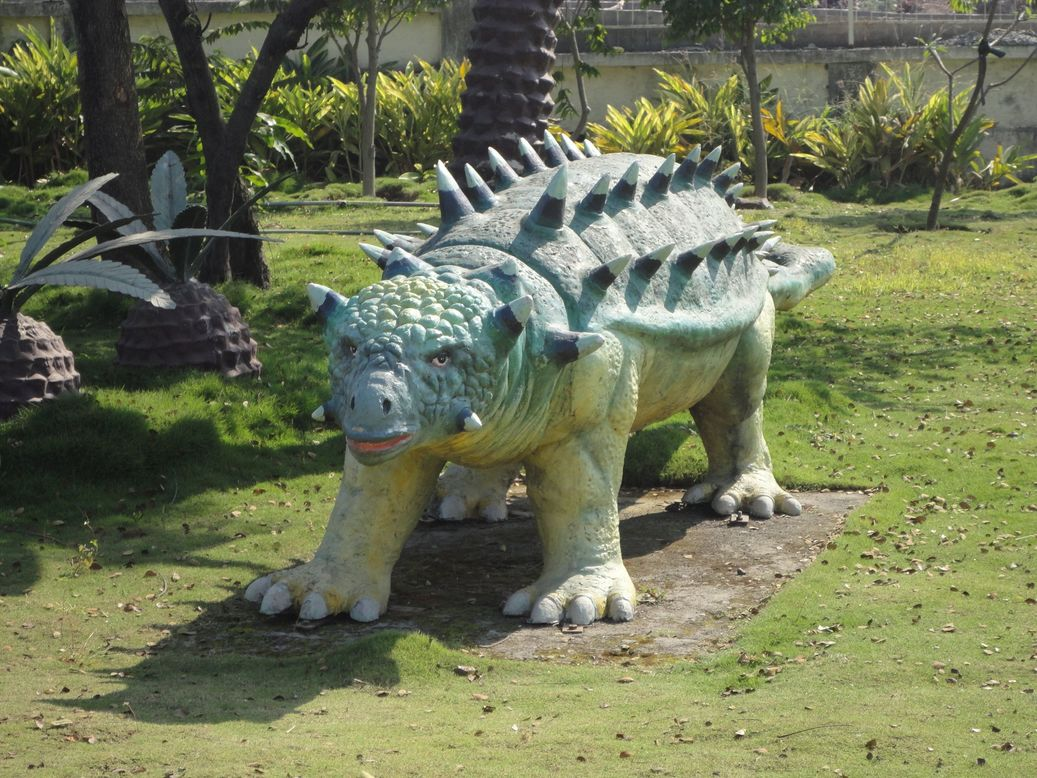 Dinosaur Park. Pimpri-Chinchwad Science Centre, Pune, India