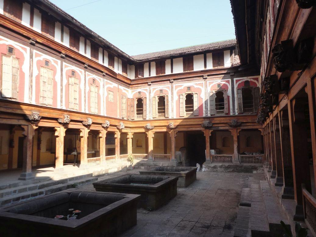Vishrambaug Wada. Pune, India
