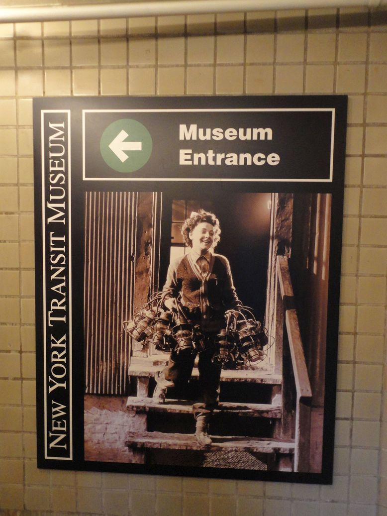 Welcome to the New York Transit Museum, NYC, USA