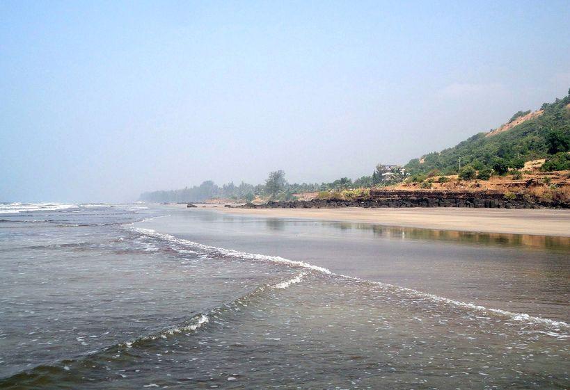 Sand and Sea. Karde Beach, Maharashtra, India