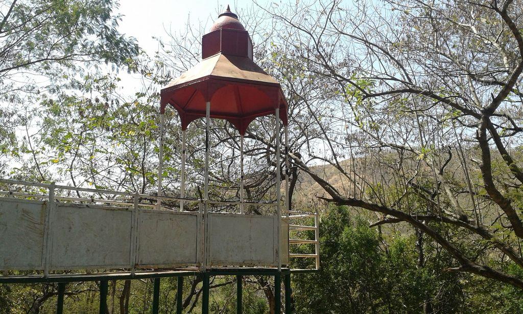 Climb the watchtower! Baneshwar, Maharashtra, India
