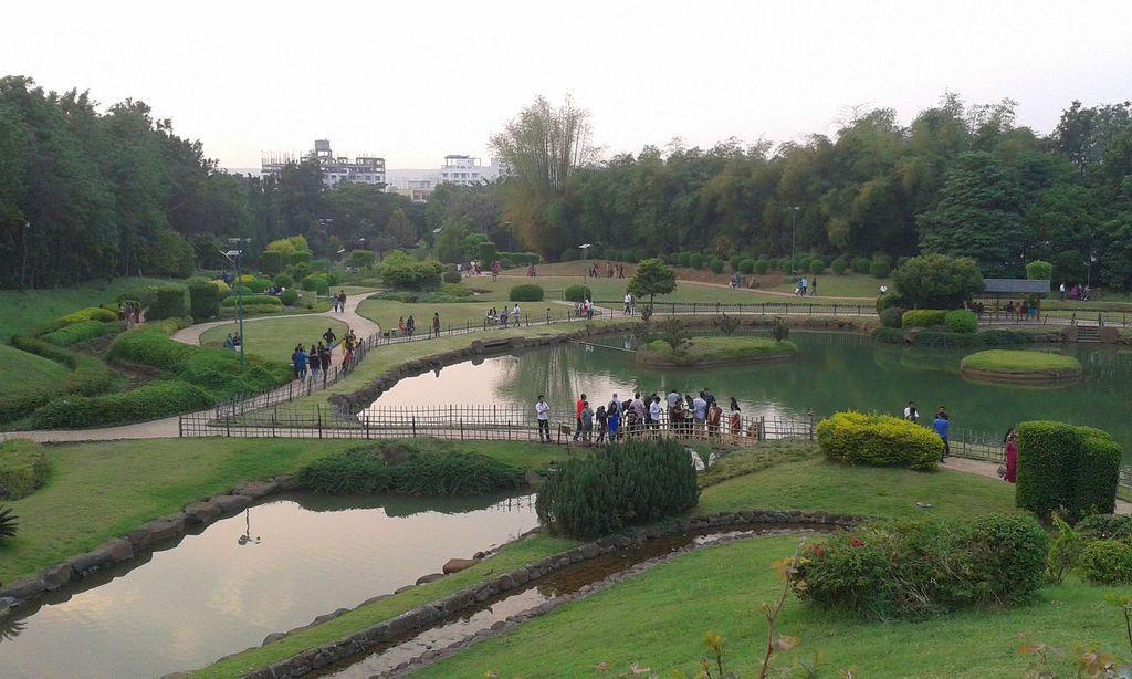 Pune-Okayama Friendship Garden (Pu La Deshpande Udyan), Pune, India