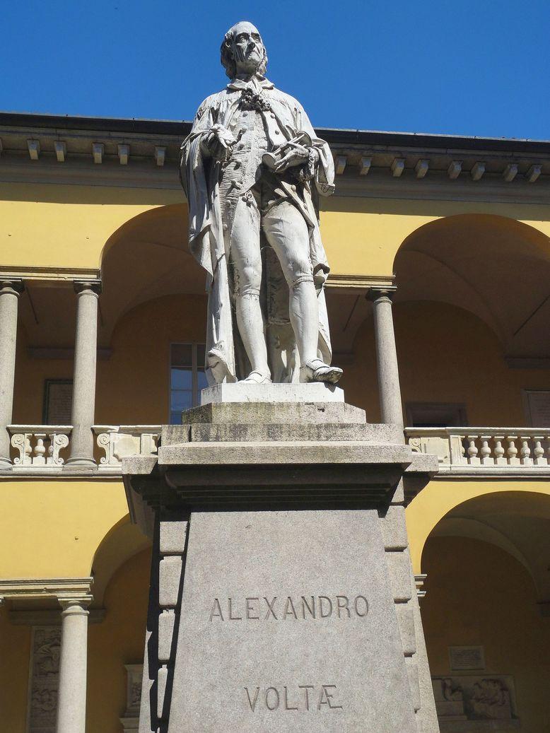 Alessandro Volta. University of Pavia, Italy