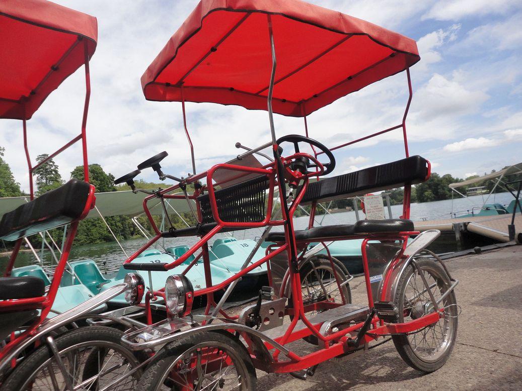 Pedal away! At Parc de la Tête d'Or, Lyon, France