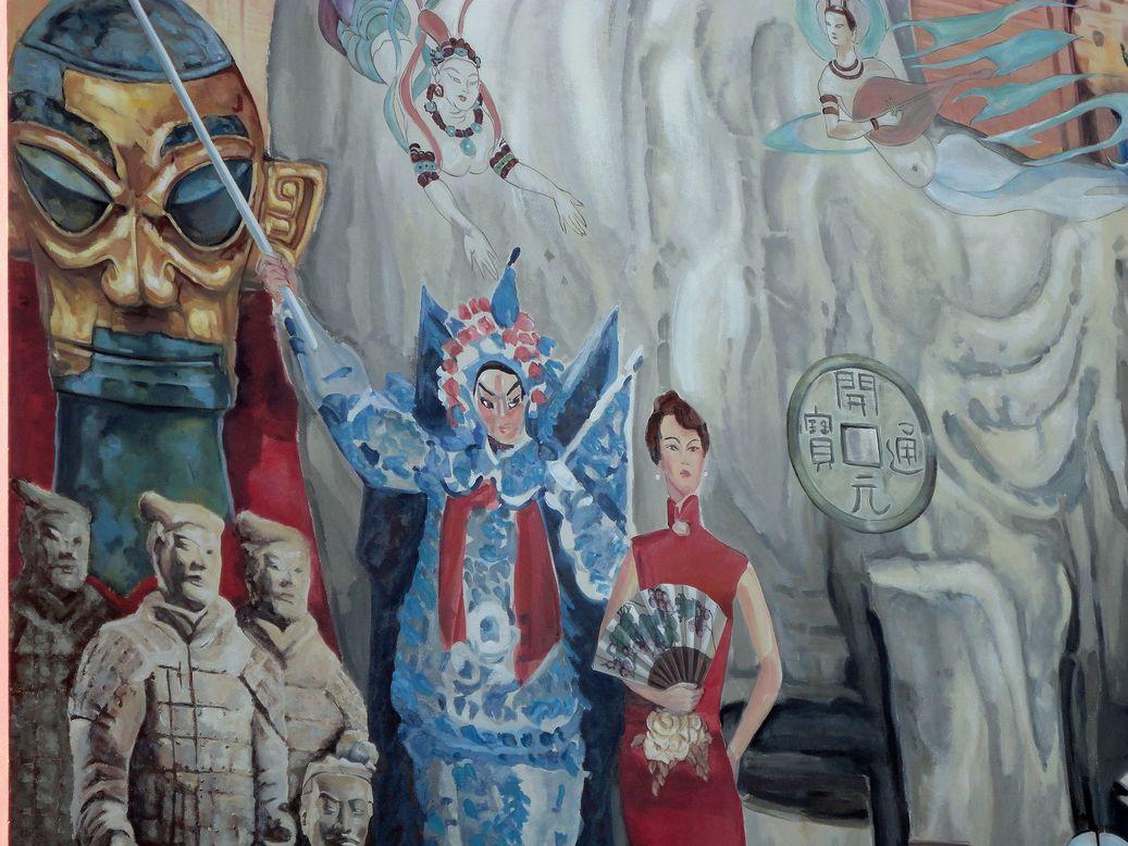 La Fresque de Shanghai. Lyon, France