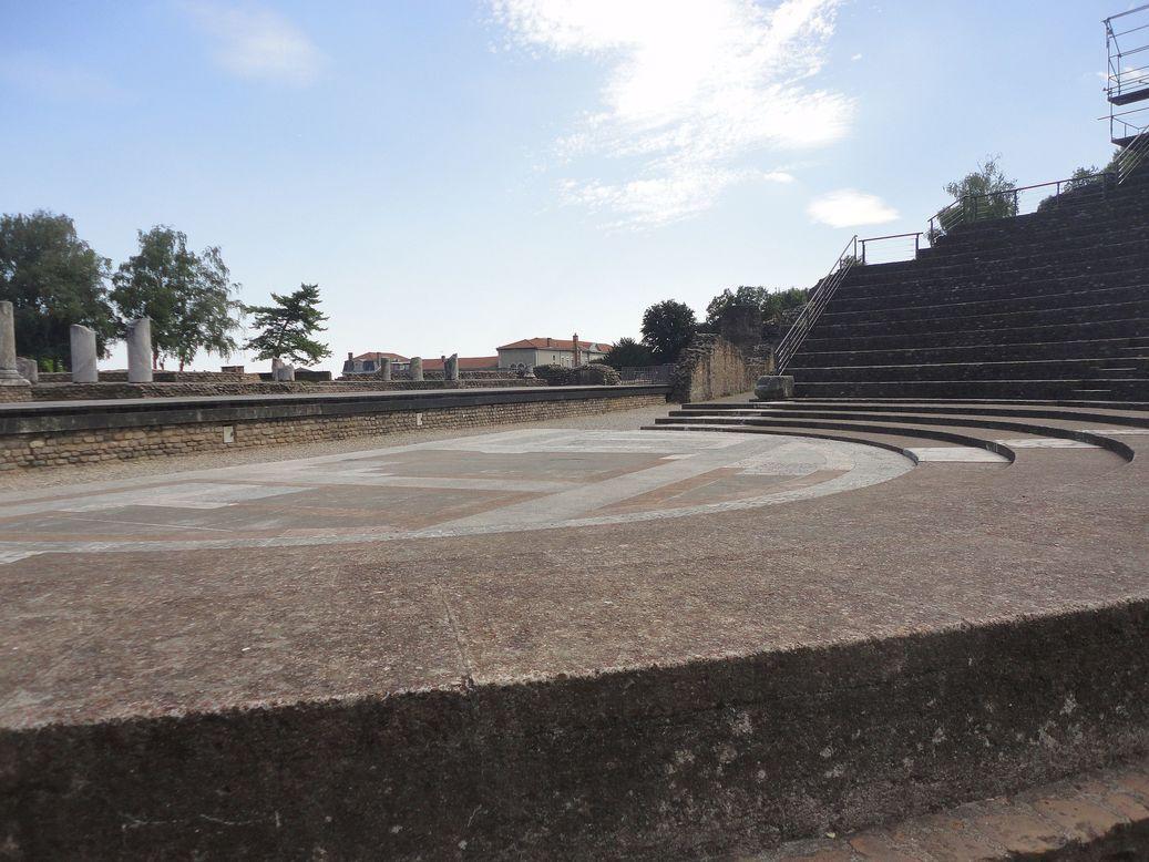 Revisiting History at the Roman Theater. Lyon, France