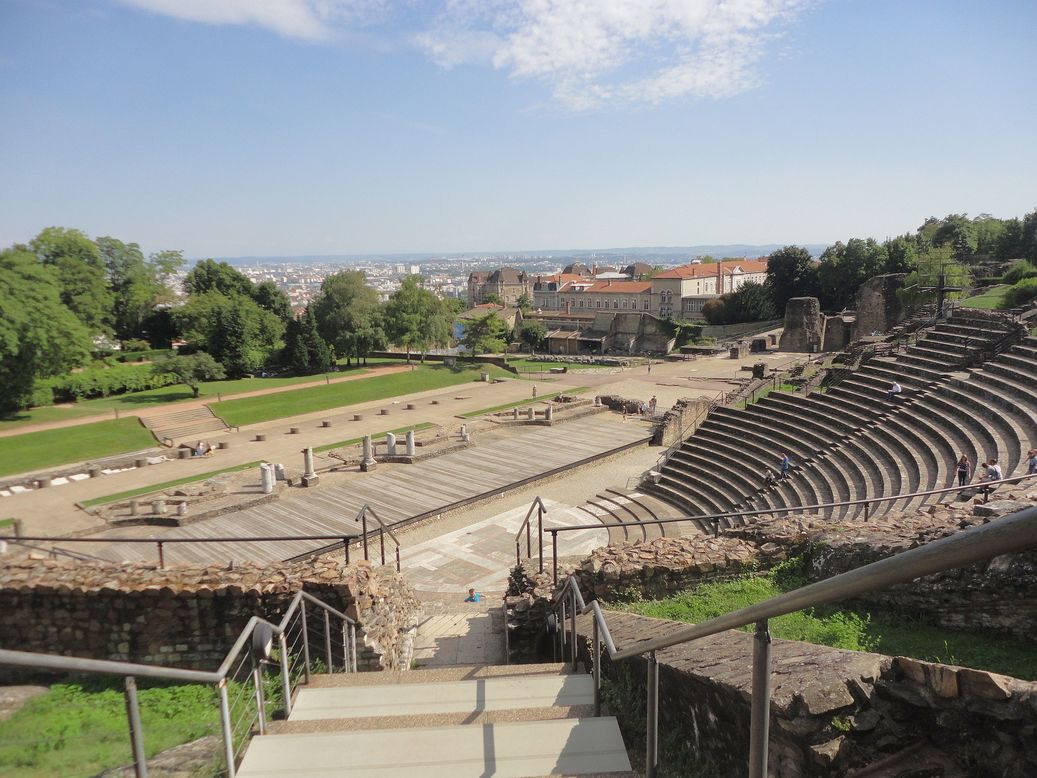 Roman Theater, Lyon, France