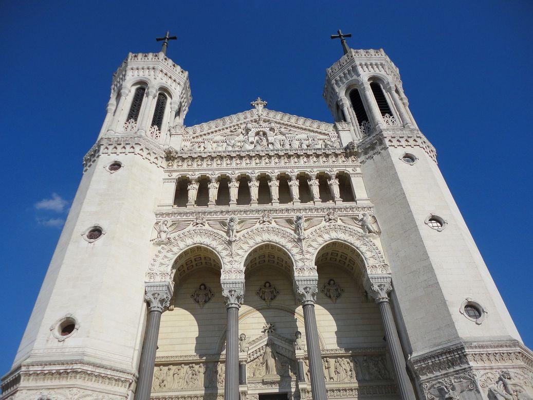 Basilica of Notre Dame de Fourvière, Lyon, France