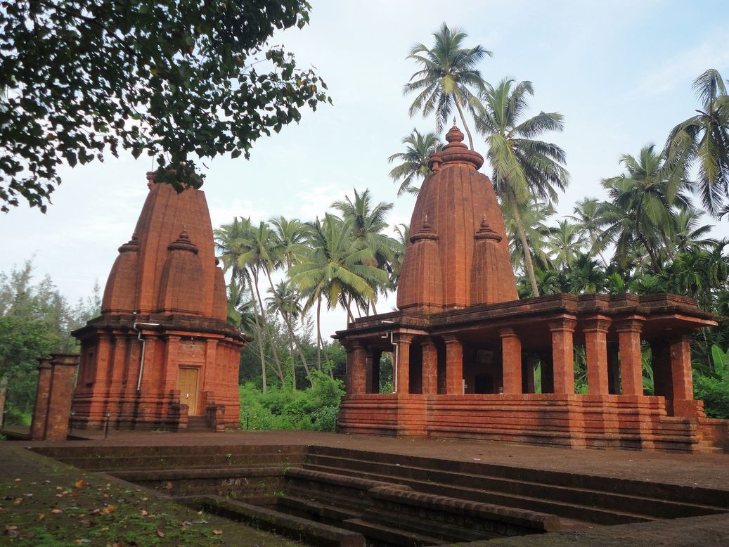 Peace. Roopnarayan Temple, Diveagar, Maharashtra, India.