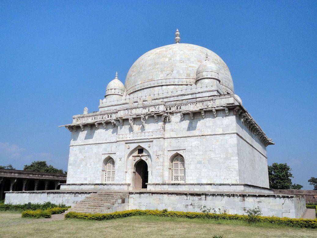 Hoshang Shah's Tomb. Mandu  (Mandav), Madhya Pradesh