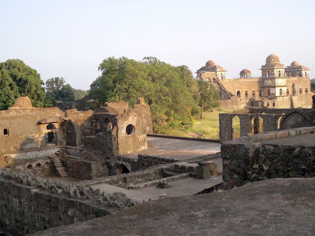 Monuments. Mandu (Mandav), Madhya Pradesh, India