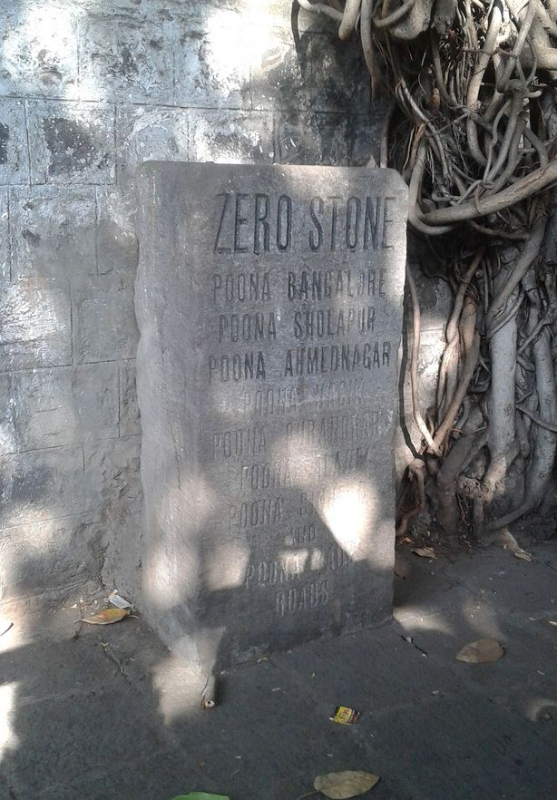 Zeroing in. The Zero Stone, Pune, India