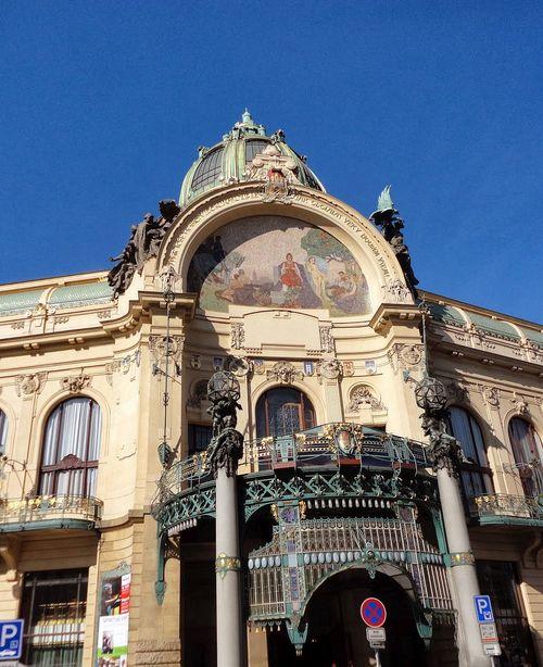 Beautiful Buildings. Old Town, Prague, Czech Republic.