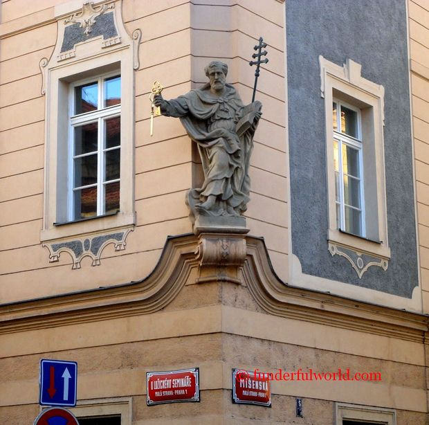 In the streets of Prague. Czech Republic.