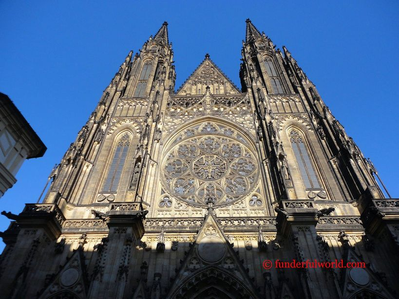 St. Vitus Cathedral. Prague, Czech Republic.