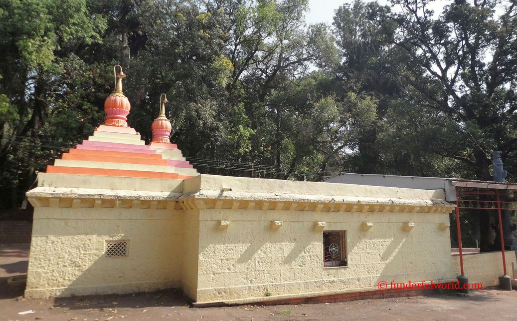 Seeking Blessings. Ambabai Temple, Panhala, Maharashtra.