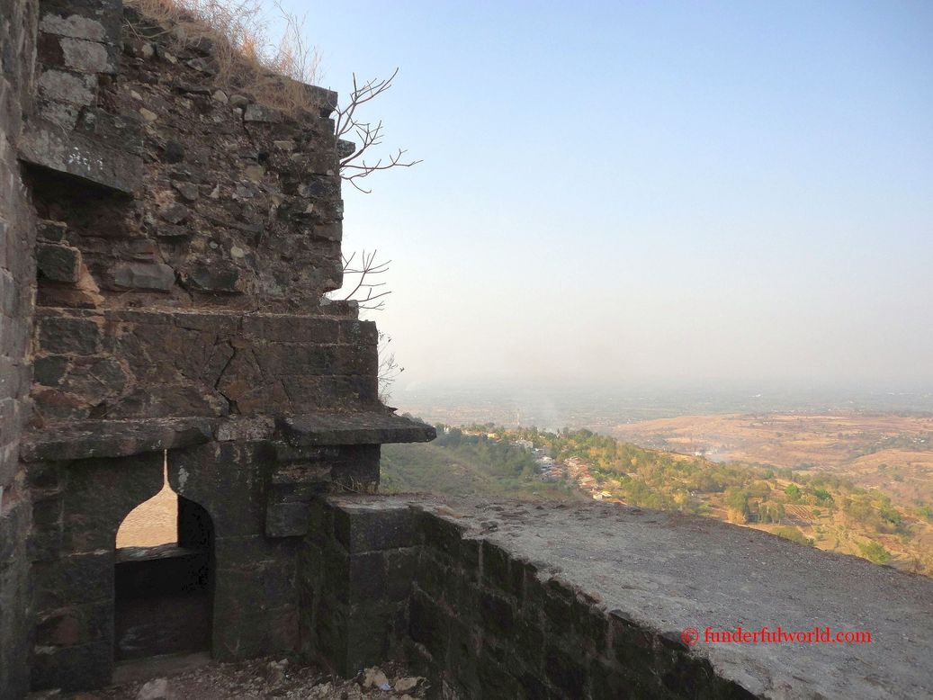 Fortifications. Panhala, Maharashtra.