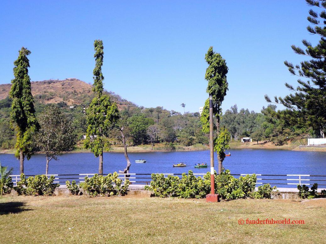 Green (and some blue!) At the Lake Garden. Saputara, Gujarat, India.