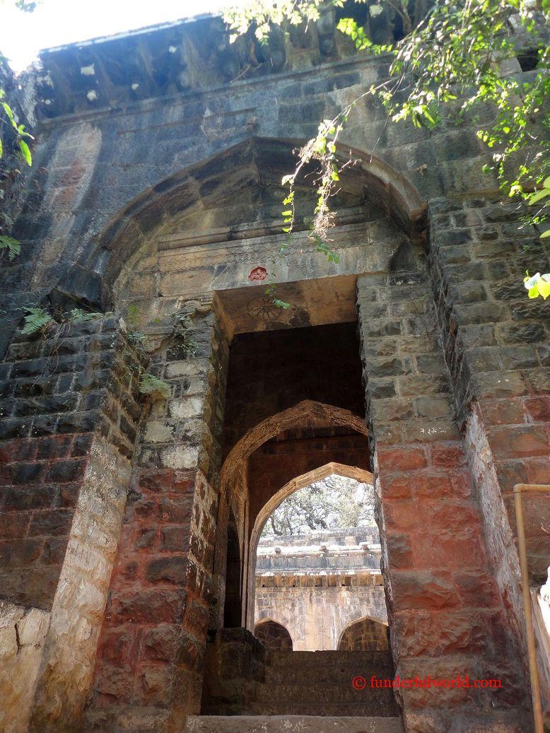 The entrance of Tabak Udyan. Panhala, Maharashtra.
