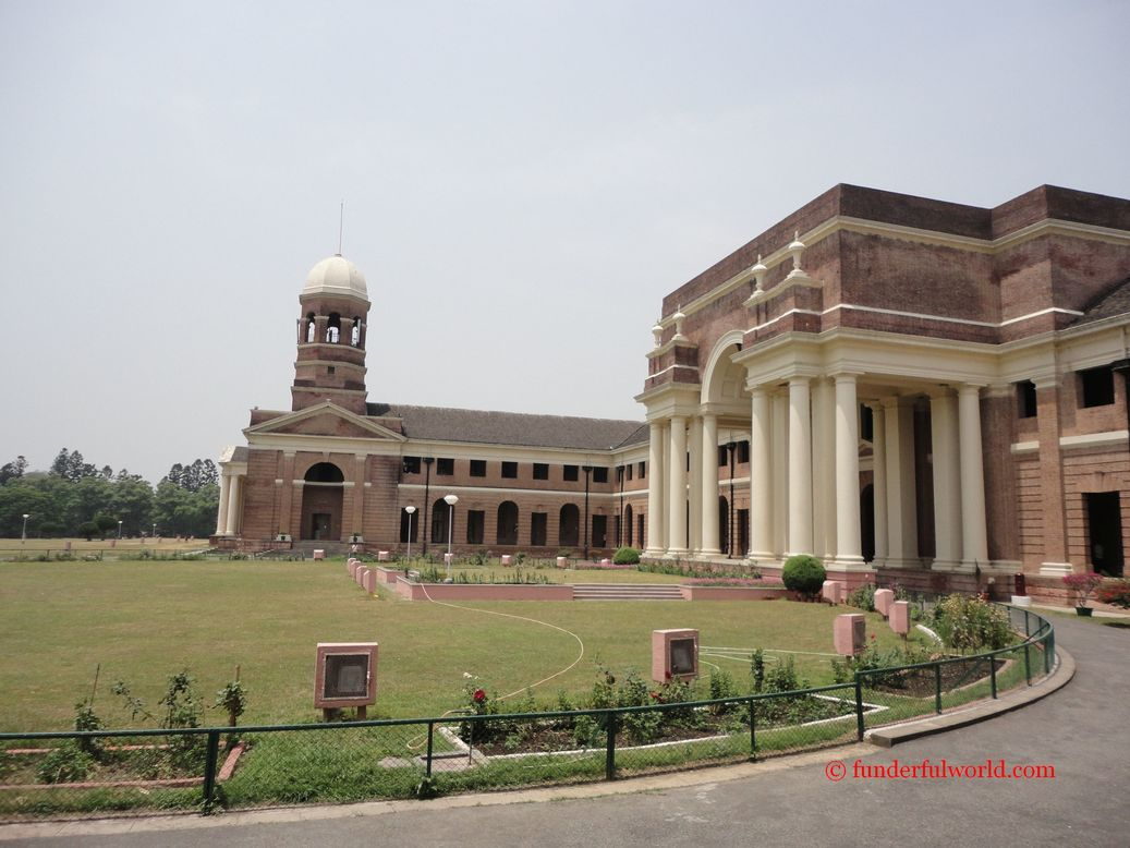 The sprawling campus of the Forest Research Institute. Dehradun, India.
