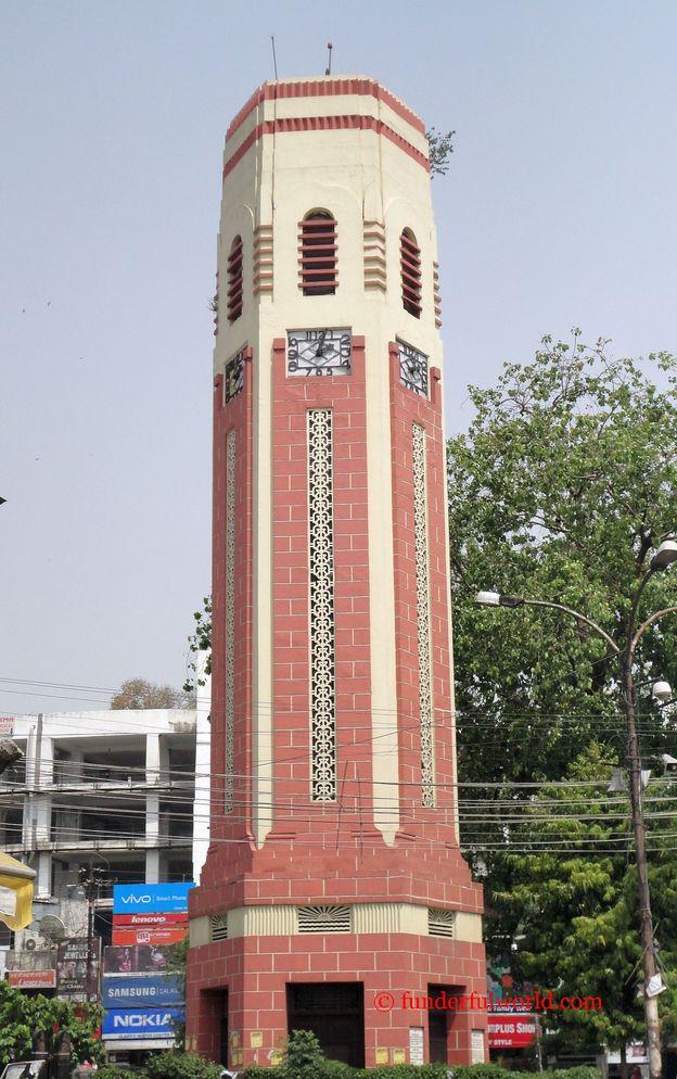 Tick tock goes the clock. Clock Tower (Ghanta Ghar), Dehradun, India