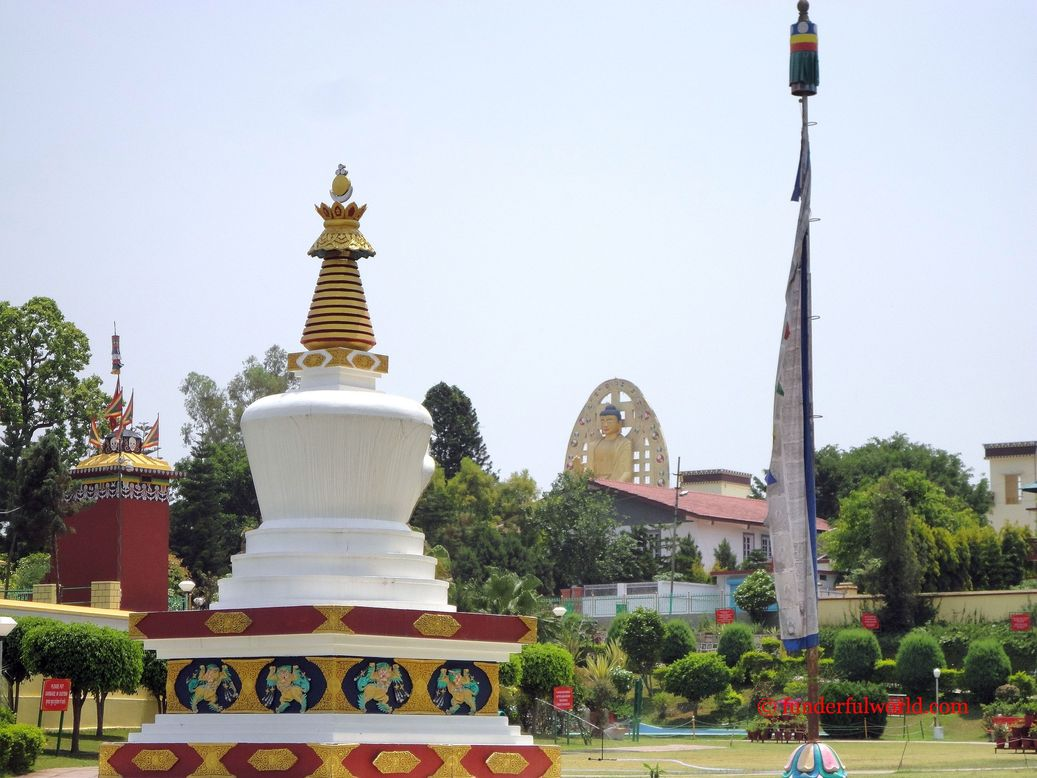 Mindrolling Monastery, Dehradun, India.
