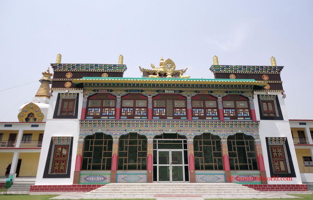 At the Mindrolling Monastery. Dehradun, India.
