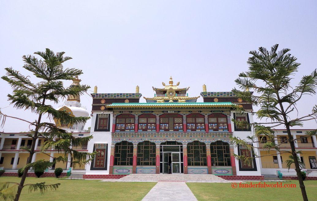Mindrolling Monastery. Dehradun, Uttarakhand, India