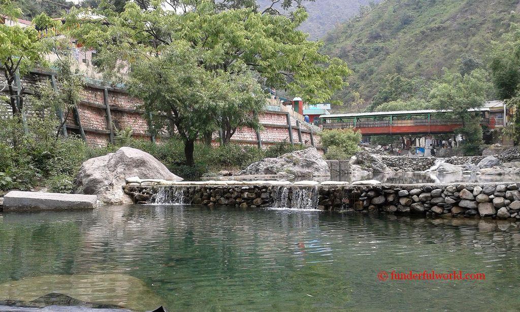 Sahastradhara, Thousand Springs. Dehradun, India.